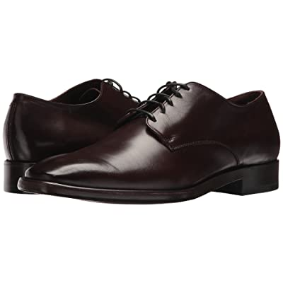 Frye Weston Oxford (Dark Brown Smooth Veg Calf) Men