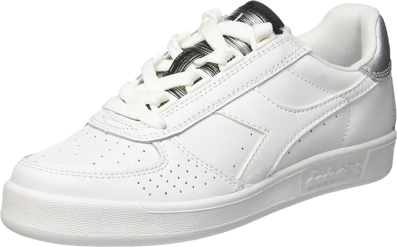 Diadora Women's B.Elite Wn Gymnastics shoes Bianco