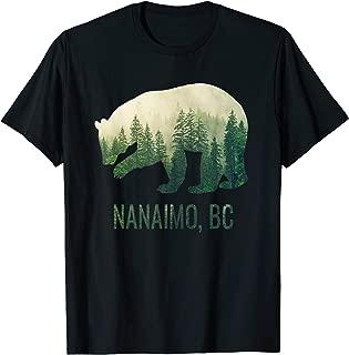 Nanaimo BC Bear PNW British Columbia Canada T-Shirt