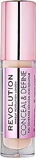 Makeup Revolution Conceal & Define Concealer, C6.5