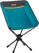 Uquip Three Sixty lichtgewicht campingstoel met draagtas, 360° draaischarnier