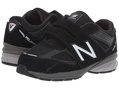 New Balance Kids 990v5 (Infant/Toddler) (Black) Kids Shoes