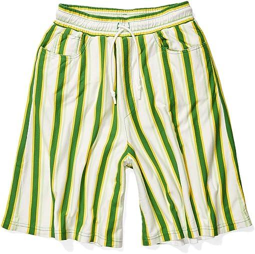 Green/Yellow Stripes