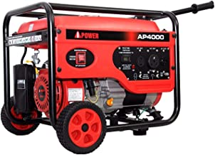 A-iPower 4,000-Watt Gasoline Powered Manual Start Generator