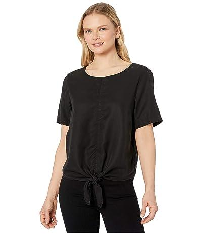 tentree Roche Shirt (Meteorite Black) Women