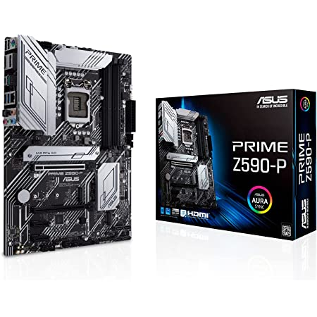 ASUSTek Intel 第10世代・11世代CPU(LGA1200)対応 Z590 チップセット ATX マザーボード PRIME Z590-P【国内正規代理店品】