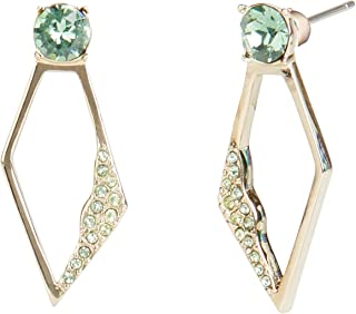 Carolee Women's Small Double Drop Stone Earring