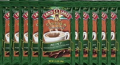 Land O' Lakes Hot Cocoa Mix, Mint, 1.25 oz (35g), 10 Packets