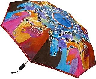 Wild Horses Compact Umbrella (Multi)