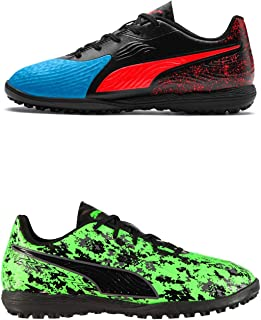 Official Brand Puma One 19.4 Astro Turf Football Trainers Juniors Soccer Shoes Sneakers