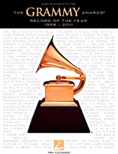 Hal Leonard The Grammy Awards Record Of The Year 1958-2011 (Easy Guitar With Tab)