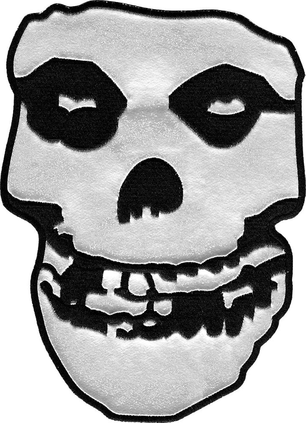 Misfits Skull Back Patch