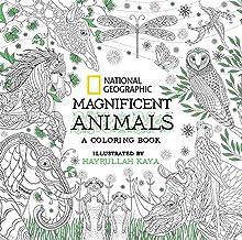 NG Magnificent Animals: A Coloring Book