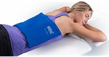 Chattanooga ColPac - Reusable Gel Ice Pack - Blue Vinyl - Standard - 11 in x 14 in (28 cm x 36 cm) - Cold Therapy for...