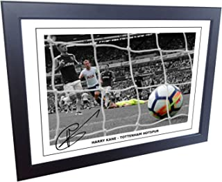 Kitbags & Lockers 12x8 A4 Signed Harry Kane Tottenham Hotspur Spurs Autographed Photo Photograph Picture Frame Gift