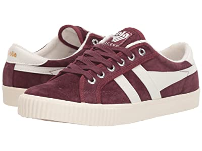 Gola Tennis Mark Cox Suede (Windsor Wine/Off-White) Women