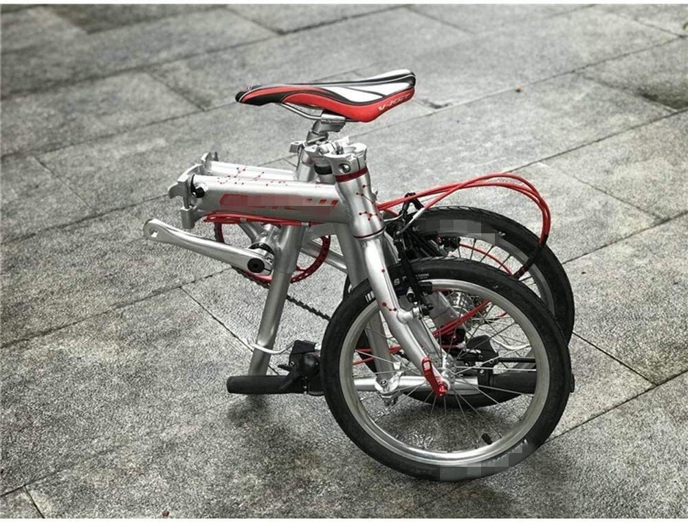RVTYR Bicicleta Plegable Hijos Adultos Ligera del Viaje Mini Bike ...