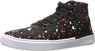 Under Armour Kids' Grade School Kickit2 Splatter Mid Sneaker