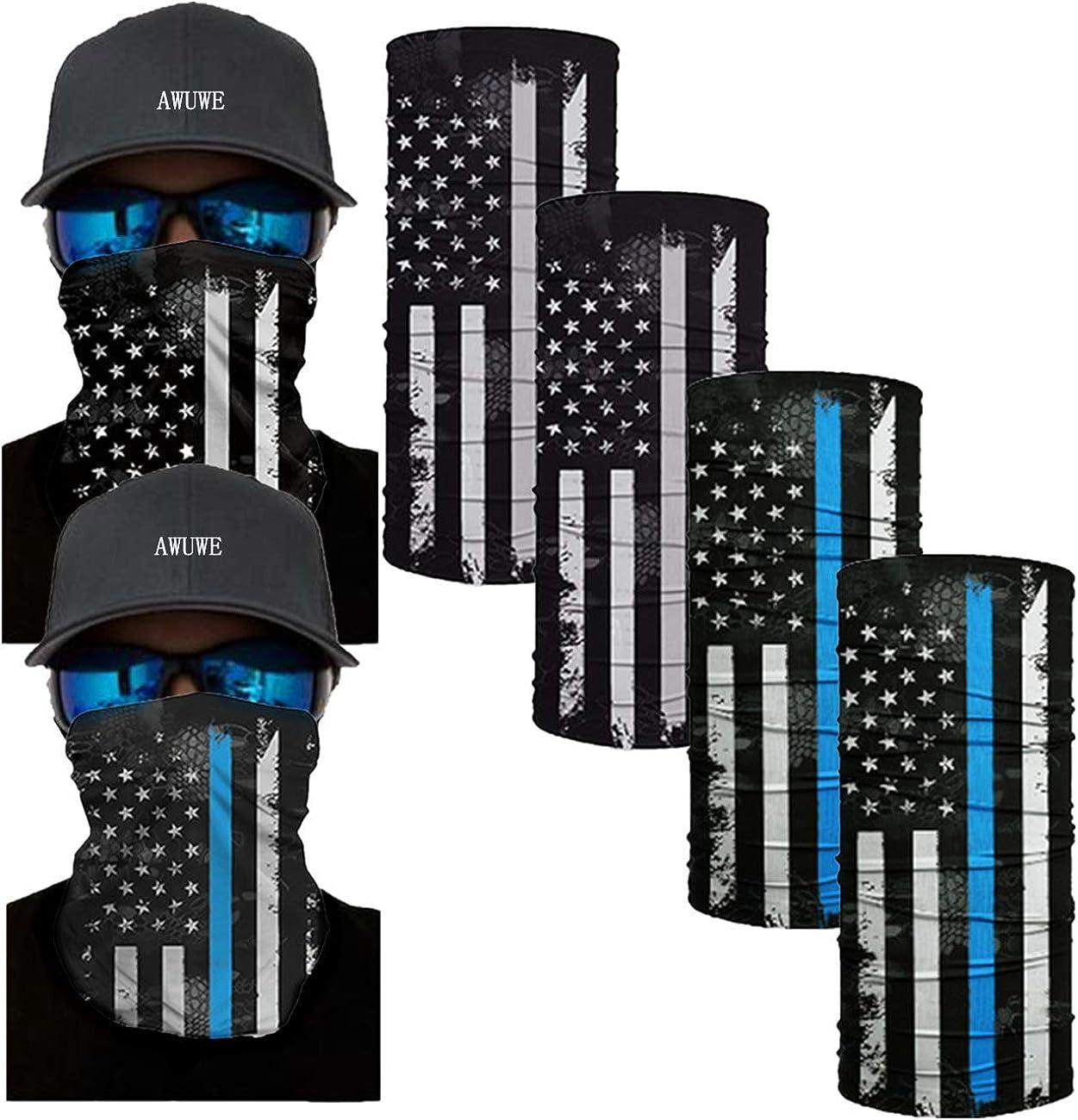 overseas AWUWE Face Mask Max 61% OFF Neck Gaiter Bandana Seamless Bal Scarf Headbands
