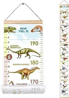 LIFELIKO Personalised Growth Chart for Dinosaur Lovers,...
