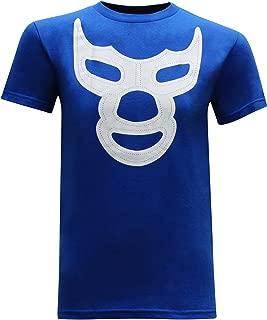 Blue Demon Mask Men's T-Shirt