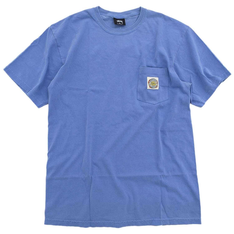 (ステューシー) STUSSY Tシャツ 半袖 メンズ Blaze Pigment Dyed Pocket [並行輸入品]
