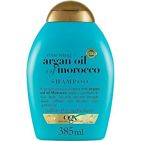 OGX Shampoo Rigenerante, Olio di Argan del Marocco, per Capelli Secchi e Danneggiati 385 ml