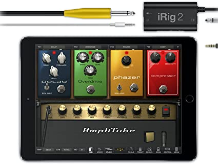 IK Multimedia iRig 2 Guitar Interface Adaptor for iPhone, iPod Touch & iPad