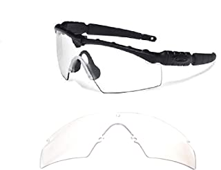 Galaxy Replacement Lenses For Oakley Si Ballistic M Frame 2.0 Z87 Crystal Clear
