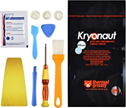 Thermal Paste Thermal Grizzly Kryonaut Thermal Grease Paste 1.0 Gram with All Pro-Installer Kit