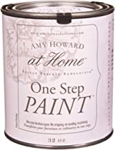 Amy Howard Home | One-Step Paint | Black | Chalk Finish Paint | Zero VOCs | Eco-Friendly | No Stripping, Sanding or Priming | Multi-Surface Furniture & Cabinet Paint