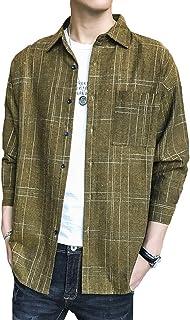 [エスアンドワイ] 8デザイン オックスフォードシャツ 長袖シャツ 柄シャツ トップス おしゃれ メンズ M~2XL