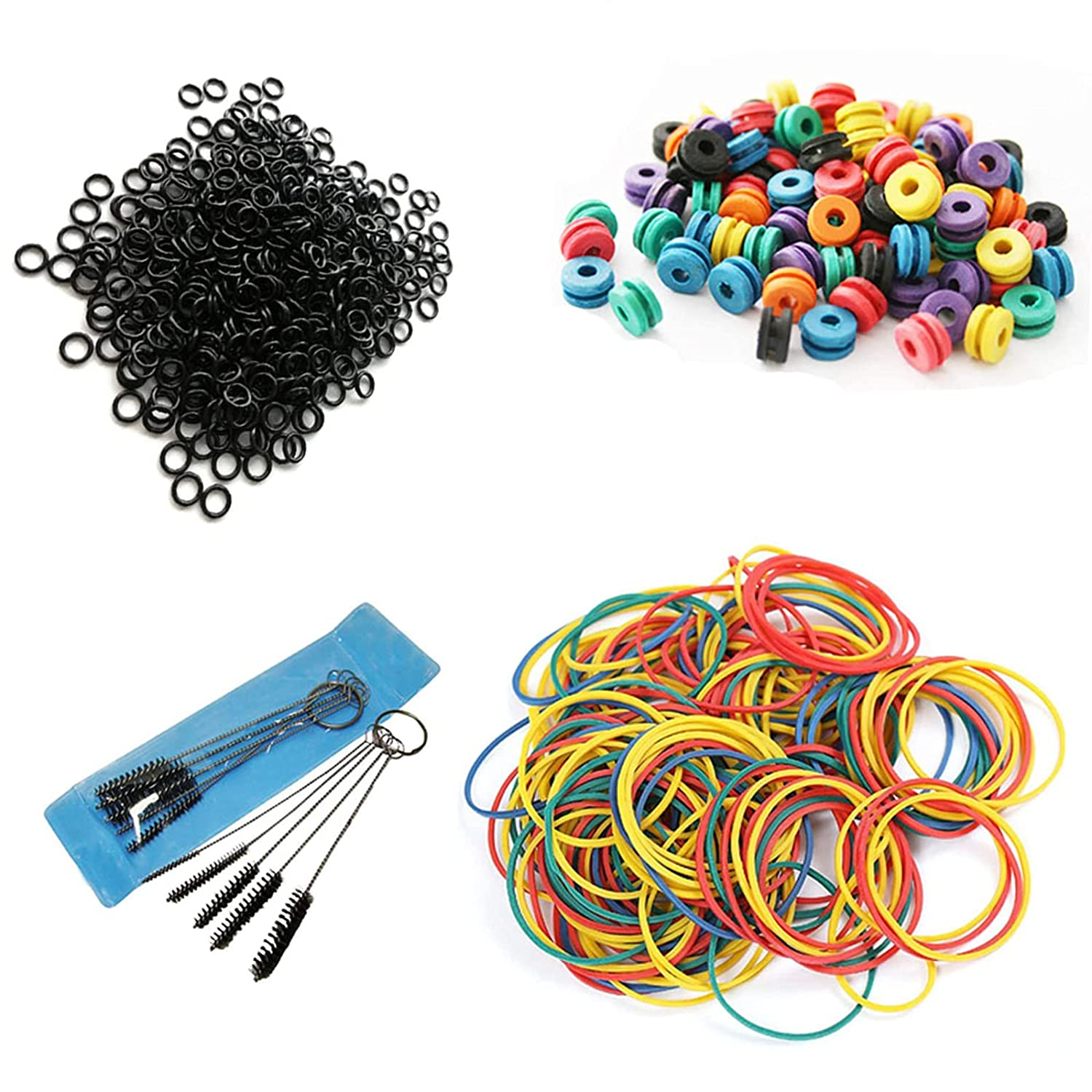 Brand new Tattoo Machine Part Canethy 100pcs T Bands Rubber Easy-to-use