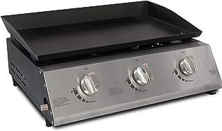 ACTIVA Plancha 3 brûleurs 2,1 kW (6,3 kW) pour barbecue à gaz