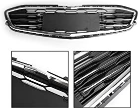 Areyourshop Mesh Chrome Front Bumper Lower Grille for Chevy Malibu 2016-2017