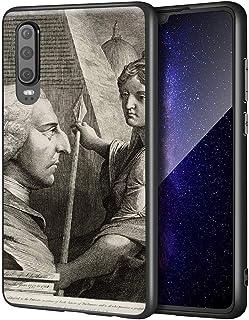 James Barry Huawei P30用ケース/ファインアート携帯電話ケース/高解像度ジクレーレベルUV複製プリント、携帯電話カバー(ウィリアムピットアールオブチャタム)