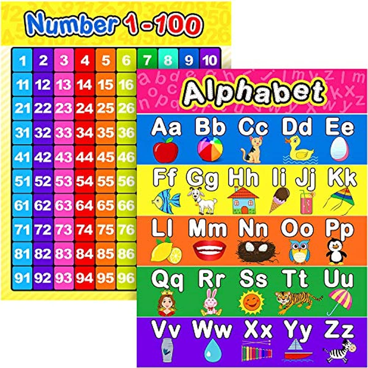 pagsundog Extra Large Preschool Posters For Learning Max 41% OFF Ranking TOP11 Educational