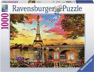 Ravensburger-15168 Puzzle 1000 pièces Les quais de Seine Adulte, Néant