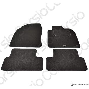 BEIGE TRIM Rmsone GENUINE FULLY TAILORED BLACK CARPET CAR MATS JUKE 2010