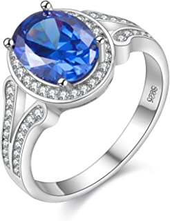 blue spinel ring