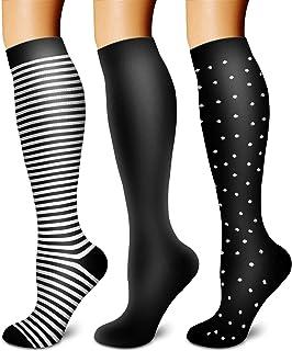 Compression Socks for Women & Men Circulation-Compression Socks -Best for Running,Nurse,Travel,Cycling