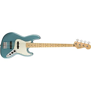 Fender Player Jazz Electric Bass Guitar - Maple Fingerboard - Tidepool