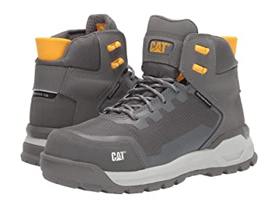 Caterpillar Propulsion Waterproof Composite Toe (Medium Charcoal Nubuck) Women