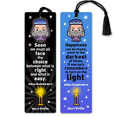 Re-marks Harry Potter Dumbledore Literary Collection Quotemarks (2-Pack)