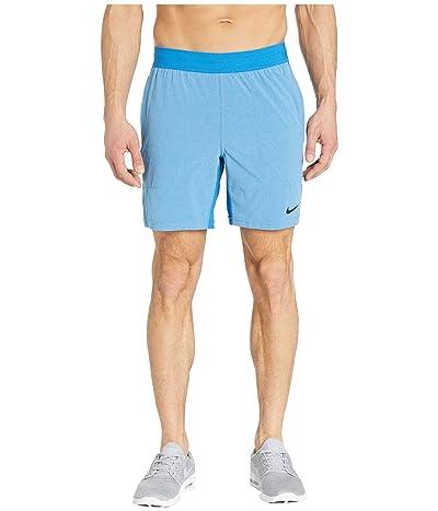 Nike Flex Shorts Active (Battle Blue/Psychic Blue/Black) Men