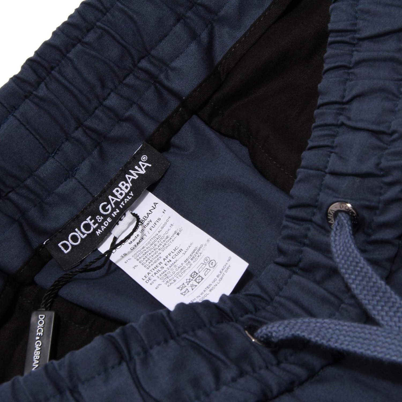 6671AA Pantalone Uomo DOLCE&GABBANA Blue Trouser Man Blu