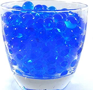 JellyBeadZ Brand Water Beads Blue Centerpiece Wedding Gel 8 Ounces Makes 6 Gallons