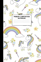 Primary Composition Notebook: Writing Journal for Grades K-2 Handwriting Practice Paper Sheets - Cute Unicorn School Supplies for Girls, Kids and ... 1st and 2nd Grade Workbook and Activity Book