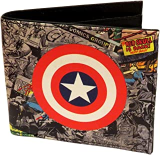 Bifold Red Men Credit Card Holder New Men/'s Wallet Infinity War Marvel Avengers