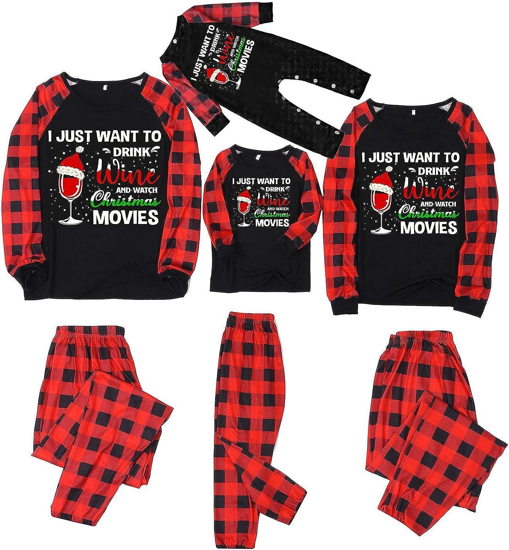 Christmas Matching Family Pajamas Set Xmas Beauty products Men unisex PJS for Women
